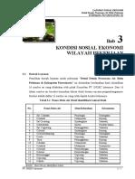 Sosek 3 - Kondisi Sosial Ekonomi