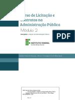 2019 - CURSO DE LICITAÇÕES E CONTRATOS modulo 2 - Licitação.pdf