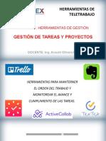 GESTIÓN DE TAREAS Y PROYECTOS