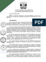 R.D N 127-2020-MINAGRI-DVDIAR-UEFSA-DE