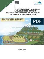 PROTOCOLO DE EJECUCIÓN DE OBRAS - INVERSIONES DE SYCA-05.05.20