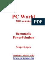 Bemutatók PowerPointban