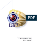 Clam AntiVirus 0.93 User Manual