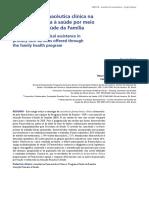 Assistência Farmacêutica Clínica Na Atenção Primária à Saúde Por Meio Do Programa Saúde Da Família