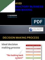 BDDN4103 Decision Making Summary