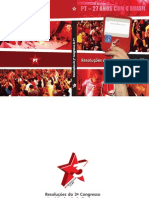 Resolucões do III Congresso Nacional do Partido dos Trabalhadores