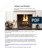 ow to clean a chimney and fireplace