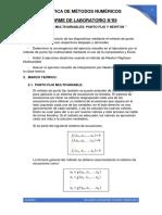 INFORME DE LABORATORIO N°09 - MÉTODOS NUMÉRICOS.pdf
