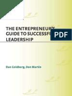 Entrepreneur guide to Leadership