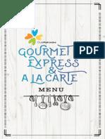 04 GURMENT EXPRESS-ALA CARTE MENU