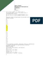 Rezolvari Programare procedurala