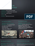 Diapositivas de las revoluciones