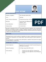 Currículum Vitae - JASD (1)