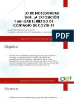 capacitacion Protocolo de Bioseguridad