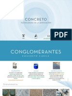Dosificación y obras de concreto simple