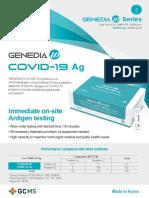 GENEDIA W COVID-19 Ag