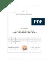 Erosion and Sedimentation Control Rev 0