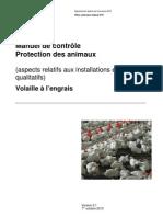 Manuel de contrôle Protecion des animaux