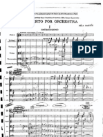 Bartok - Concerto for Orchestra (full score)