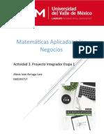 Matematicas Aplicadas Proyecto Integrador AIAL040193717.docx