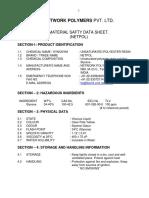 MSDS NETWORK POLYMERS U P RESIN.pdf