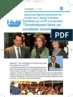 Boletín del Partido Popular de Torrelodones. Enero 2011