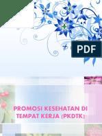 Promosi kesehatan di tempat kerja(PKDK)