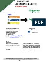 Schneider Price List (Packard Engineering)