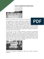 Implantación en Europa y competiciones internacionales