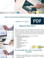 Juice Concentrates Market Research Report 2020