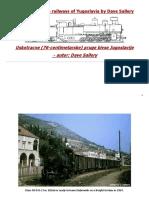 The Narrow Gauge Railways of Yugoslavia