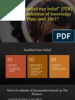 presentation of epistemology
