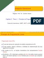 Capitulo 2_Parte I_Introdução a Programação Linear ISUTC 2020