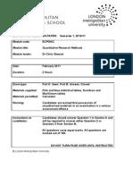 ECP0540C Part Seen Exam Paper