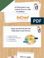InCred Edu Loan Disbursement Process