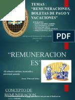 REMUNERACION, BOLETAS DE PAGO Y VACACIONES (1).pptx
