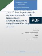 Rapport    pour             Le format de négociation.docx
