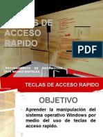 TECLAS DE ACCESO RAPIDO