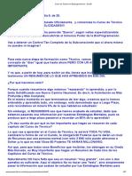 Curso de Tecnico en Bioprogramacion - Dia 09 t