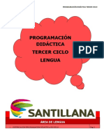 PROGR. LCL 3º CICLO