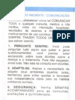 CARTILHA ORIENTAÇÕES DA ONCOSMETIC