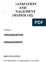 ORGANIZATION AND MANAGEMENT.pptx