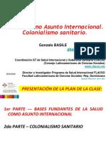 Clase La Salud como Asunto Internacional-Colonialismo sanitario2018
