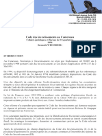 code-investissement-cameroun