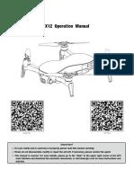 jjrc-x12 user manual