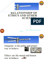 4 scrib 5 RELATIONSHIP OF ETHICS TO OTHER SCIENCES