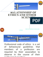 4 scrib 4 RELATIONSHIP OF ETHICS TO OTHER SCIENCES
