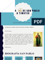 SEGUNDA  CARTA DE SAN PABLO