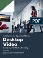 Desktop Video Manual 11.6