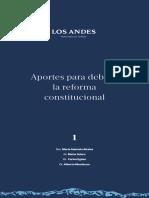 Aportes para debatir la reforma constitucional